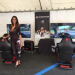Area Gaming Sim CarMan Ak informatica evento beneficenza AGAL Ferrari Club CarSchoolBox Sparco G.Fisichella 1