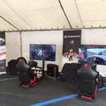 Area Gaming Sim CarMan Ak informatica evento beneficenza AGAL Ferrari Club CarSchoolBox Sparco G.Fisichella 4