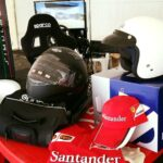 Area Gaming Sim CarMan Ak informatica evento beneficenza AGAL Ferrari Club CarSchoolBox Sparco G.Fisichella 7