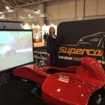 Area Gaming Sim Supercar Carman E.Pirro G.Fisichella Montella Sparco Ak informatica 3