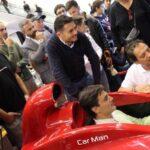 Area Gaming Sim Supercar Carman E.Pirro G.Fisichella Montella Sparco Ak informatica 6