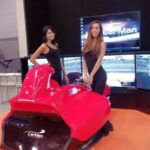 Area Gaming Sim Supercar Carman E.Pirro G.Fisichella Montella Sparco Ak informatica 7