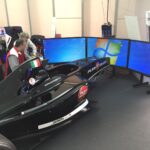 Modena Motor Valley Fest Sim Area Motor Sim Federesports Formula Speed Sim Speed Room 2