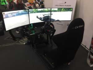 Modena Motor Valley Fest Sim Area Motor Sim Federesports Formula Speed Sim Speed Room 6