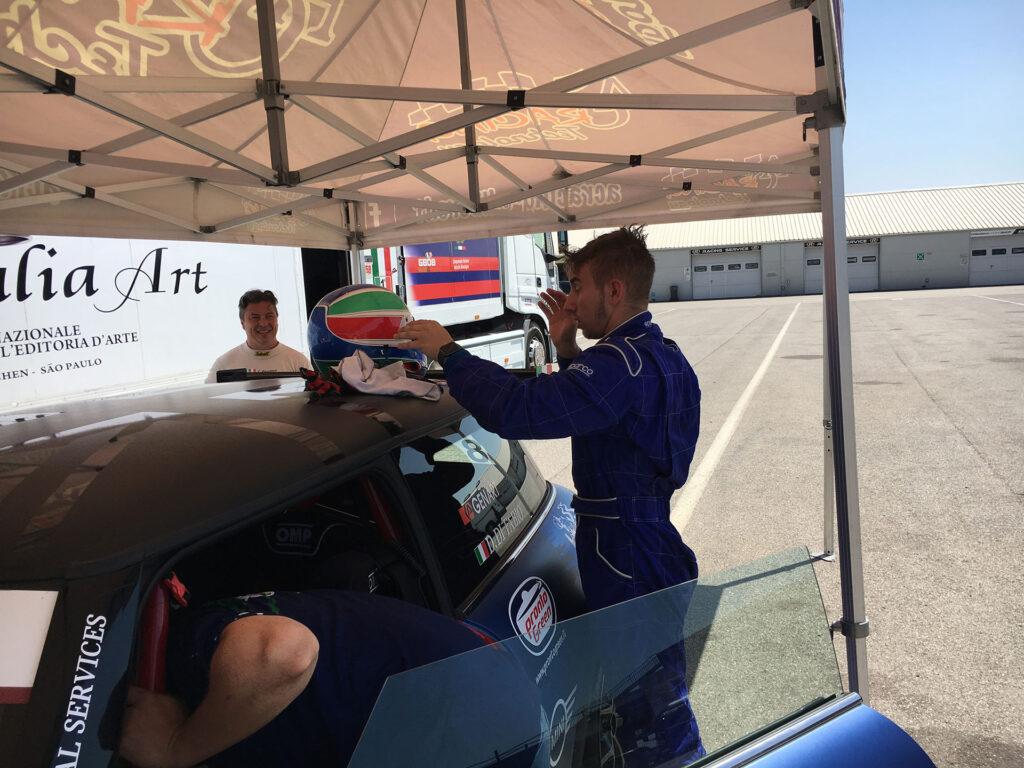 giornata test cremona mattia carro mini challenge 04